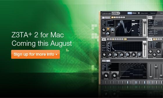 Z3TA+ 2 for Mac