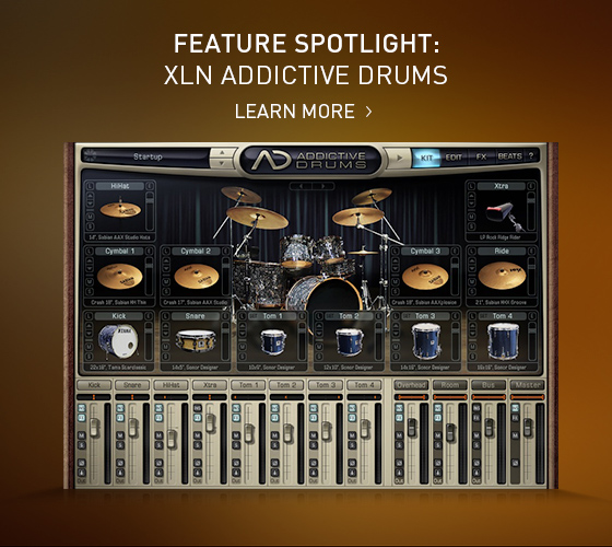 feature spotlight xln audio addictive drums in sonar x3 producer the cakewalk blog. Black Bedroom Furniture Sets. Home Design Ideas