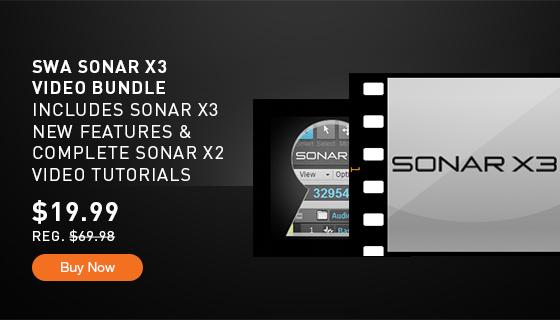 Cakewalk sonar x3 documentation tutorial 5 – working with.