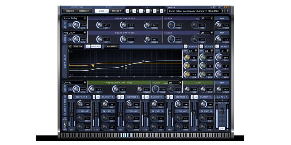 Rapture Pro Mixer