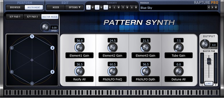 pattern synth