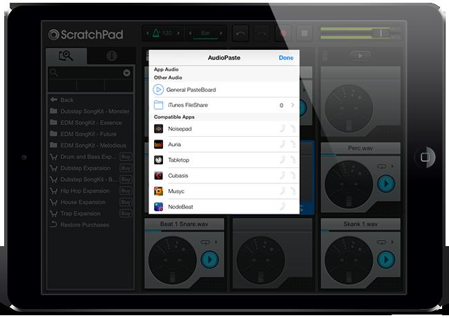 AudioPaste