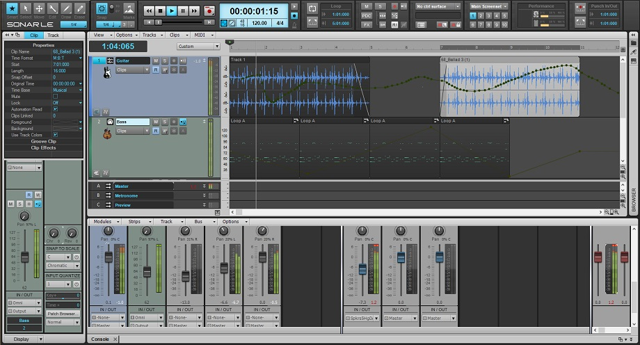 cakewalk sonar le software free download