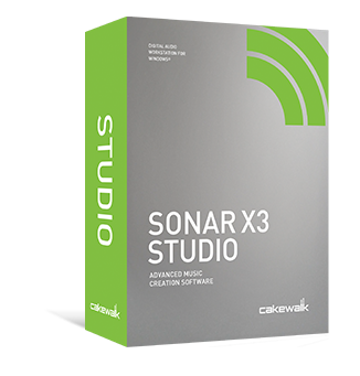 SONAR X3 Studio