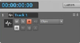 Record an Audio Track