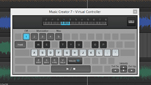 Music Creator 7 - Onscreen Virtual Controller
