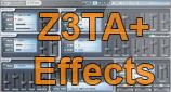 Z3TA+ as FX Plugin