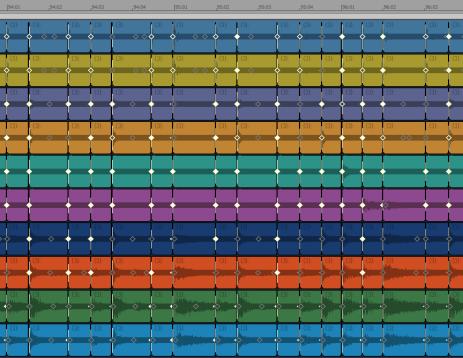 Cakewalk - SONAR X2 Documentation - Quantizing audio