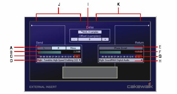Cakewalk - SONAR X3 Documentation - External Insert plug-in