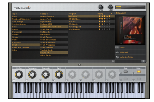 Cakewalk - SONAR X3 Documentation - Instruments