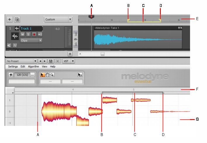Cakewalk - SONAR Documentation - Using Melodyne