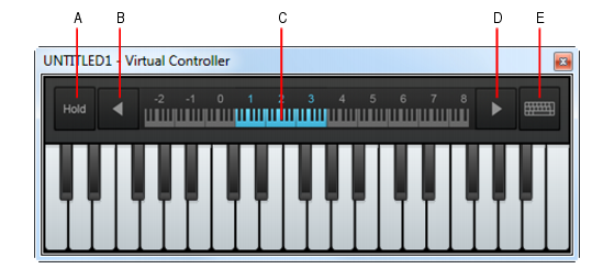Cakewalk - SONAR Documentation - Virtual Controller/Keyboard
