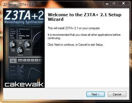 Z3TA+ 2.1 Installation Wizard