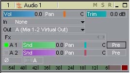 Processed volume tracks