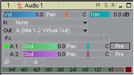 Processed volume tracks