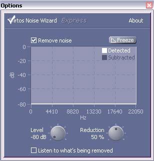 Remove noise