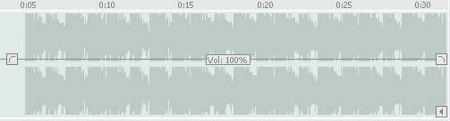 Tracks volume