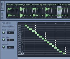 Cyclone DXi Pad Editor