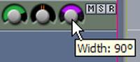 Width control