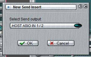 new send insert dialog
