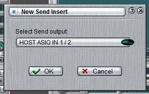 new send insert dialog